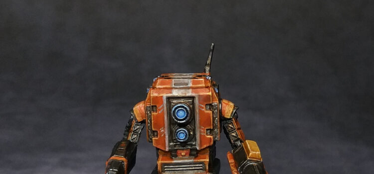 Zombicide invader, les robots.